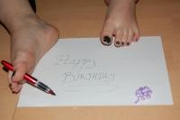 5 Custom Foot pics