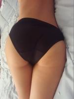 Full Black Panty