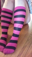 Kit's Stripy Knee Socks