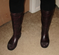 Old rain boots from GUESS & pics!