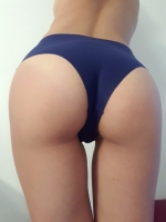 Smooth Navy Blue Panty