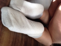 Sweaty old gym socks