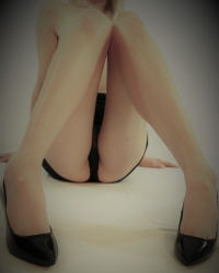 Did you think about what she was wearing under her tight little skirt?