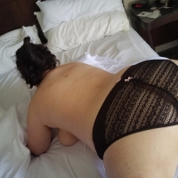 Black Lacey Panties