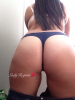 Blue Lace - Navy Thong