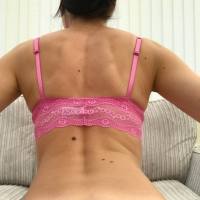 Cute Pink Bra Top
