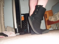 Extremely well worn, old uggs & pics!
