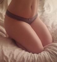 Kit's Little Purple Thong