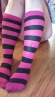Kit's Stripy Knee Socks