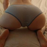 Kit's Victoria's Secret Striped Panty
