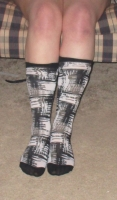 knee high socks worn 2+ days & pics
