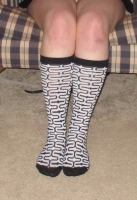 knee high socks worn 2+days & pics