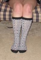 knee high socks worn 2+days & pics