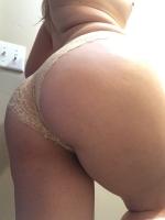 Lacy cream panties