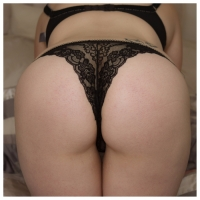 Lacy thongs