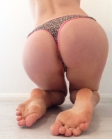 Leopard Print Cotton Thong 24+hours