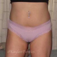 light purple cotton cheeky panty&pics