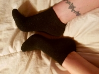 Mistress Kimberly's Black Stinky Socks