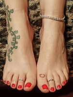 Mistress Kimberly's Skype Foot Worship