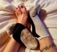 Mistress Kimberly's Stinky Puma Socks