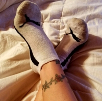 Mistress Kimberly's Stinky Puma Socks