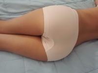 Pale Pink Boy Shorts