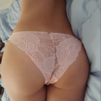 Pale Pink Fully Laced Panty