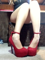 Red hot hooker heels