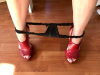 Sexy & Strappy Red Peep Toe High Heels