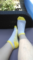 Smelly Gym Socks Used for 2 Sessions