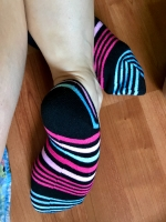 Smelly Striped Socks