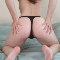 Stunning Black Thong