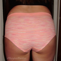 used soft, stretchy seamless panty &pics