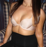 VERY well worn nude VS push-up bra &pics