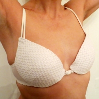 White Cotton Bra