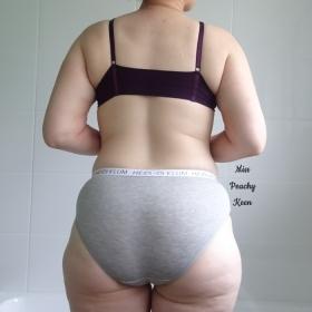 Grey Cotton Panties