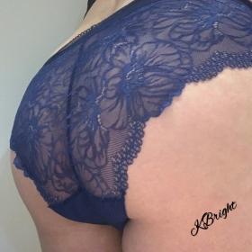 Lacy Blue Panties