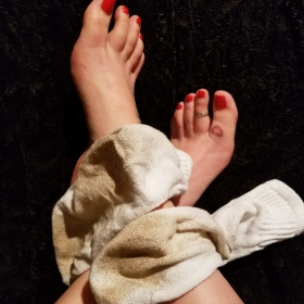 Mistress Kimberly's Dirty Worn Socks