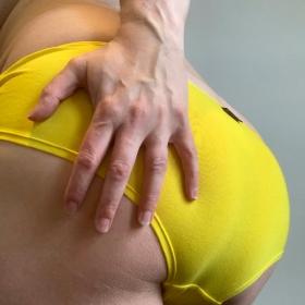 Yellow Cotton Panties