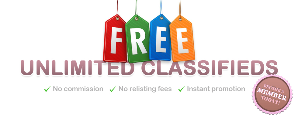 Free Unlimited Classifieds