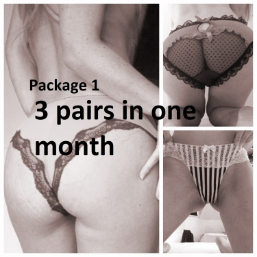 Used Panty Lover Discount Packages